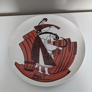 Ethnic Greek Decorative Plate